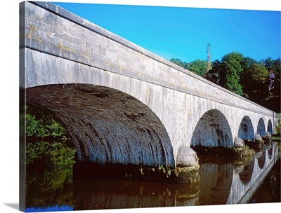 River Blackwater, Cappoquin, Co Waterford, Ireland; Bridge Over A River