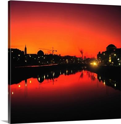 River Liffey, Dublin, Co Dublin, Ireland