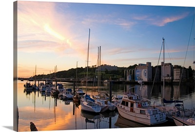 River Suir, From Millenium Plaza, Waterford City, Ireland