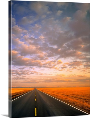 Road Into Sunset