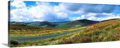 Road Through A Mountain Range, County Wicklow, Republic Of Ireland