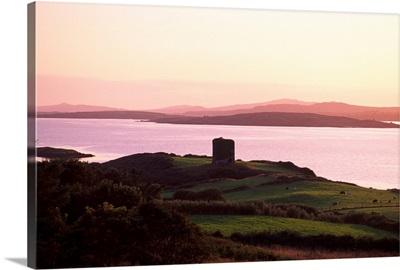 Roaringwater Bay, Co Cork, Ireland; Landscape At Sunset
