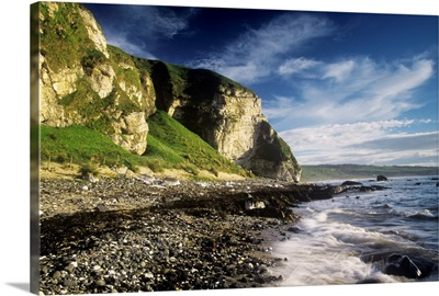Rock Formations At The Coast, Ballintoy, County Antrim, Northern Ireland