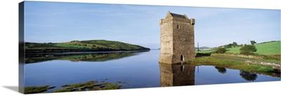 Rockfleet Castle On Clew Bay, County Mayo, Ireland