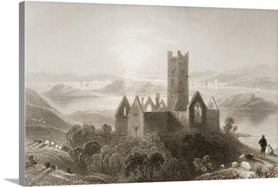 Roserk Abbey, County Mayo, Ireland