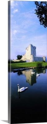 Ross Castle, Lough Leane, Killarney National Park, County Kerry, Ireland