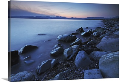 Rossbeigh Beach At Dusk; County Kerry, Province Of Munster, Ireland