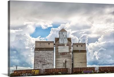 Rural grain elevator, Saskatchewan, Canada