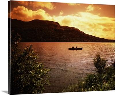 Salmon Fishing, Glencar Co., Sligo, Ireland