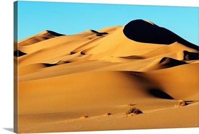 Sand Dunes In Desert, Sahara
