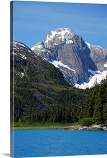 Scenic landscape of Derickson Bay in Prince William Sound, Alaska