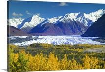 Scenic view of Matanuska Glacier