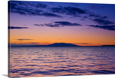 Scenic view of Mount Susitna
