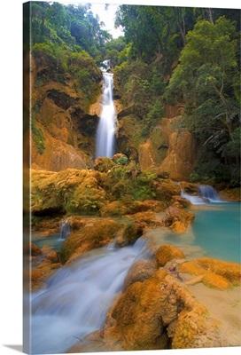 Scenic Waterfall, Luang Prabang, Laos