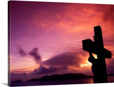 Sculpture Of the Crucifixion, Dingle Peninsula, County Kerry, Ireland