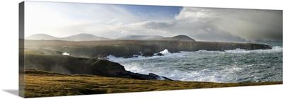 Sea Cliffs Next To The Atlantic, North Mayo, County Mayo, Ireland