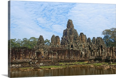South East Asia, Cambodia, Siem Reap, Banyan Temple