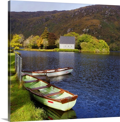 St. Finbarre's Oratory And Rowing Boats, Republic Of Ireland