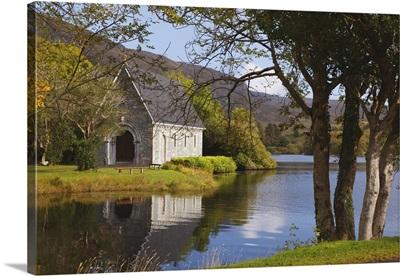 St. Finbarre's Oratory On Gougane Barra Lake; County Cork, Republic Of Ireland