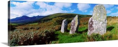 Standing Stone Alignment, Near Cloughran, Dingle Peninsula, Co Kerry, Ireland