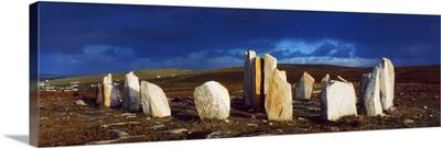 Standing Stones, Blacksod Point, Co Mayo, Ireland