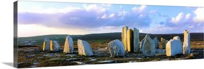 Standing Stones, Blacksod Point, County Mayo, Ireland