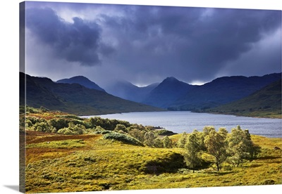 Storm Cloud Over Loch Arklet, Glen Arklet, Trossachs, Scotland