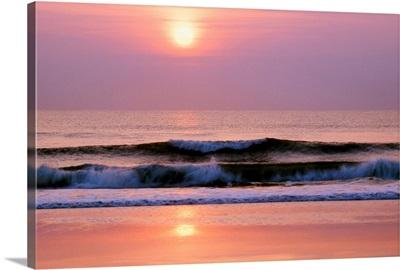 Sunrise Over The Atlantic Ocean, Florida