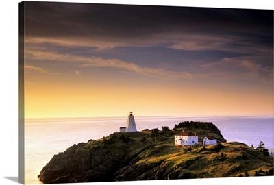 Sunrise, Swallowtail Lighthouse, Grand Manan Island New Brunswick, Canada