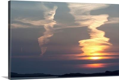 Sunset at Reenard Point, Cahersiveen, Iveragh Peninsula, Ireland