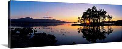 Sunset At The Lake, Kenmare, Ring Of Kerry, County Kerry, Republic Of Ireland