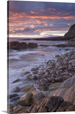 Sunset Over The Atlantic, Mullaghmore Head, County Sligo, Ireland