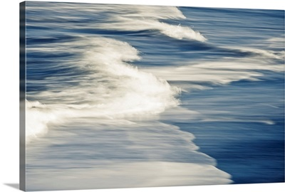 Surf Patterns at Anchor Point in South Central Alaska