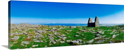 Teampoll Bheamain, Inishmore, Aran Islands, County Galway, Ireland