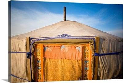 Tent In The Desert; Ulaanbaatar, Mongolia