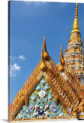 Thailand, Bangkok, Wat Phra Kaeo Complex (Grand Palace Complex), The Golden Stupa
