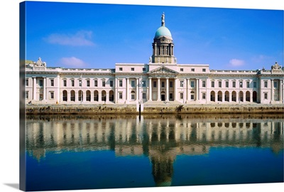 The Custom House, River Liffey, Dublin, Ireland