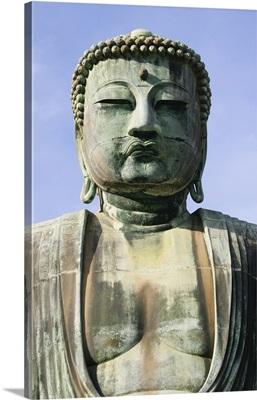 The Daibutsu Or Great Buddha, Close Up