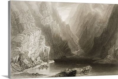 The Gap Of Dunloe, Killarney, County Kerry, Ireland, By J.T. Willmore. C.1841
