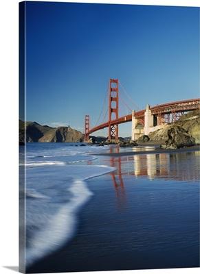 The Golden Gate Bridge, Blurred Motion; San Francisco, California