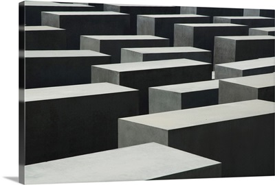 The Memorial To The Murdered Jews Of Europe, Berlin, Germany
