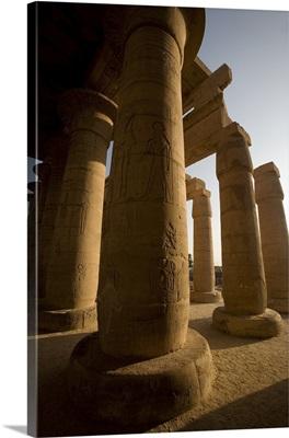The Ramesseum, Luxor, Egypt
