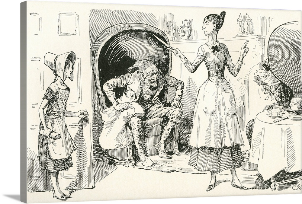 Illustration For The Charles Dickens Novel Bleak House
