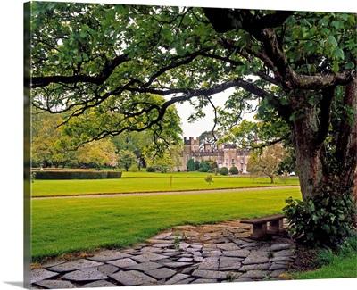 The Sundial Terrace, Glin Castle, Co Limerick, Ireland