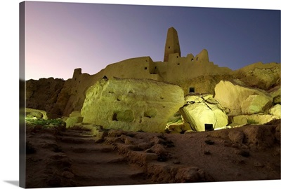 The Temple Of The Oracle, Siwa Oasis, Egypt