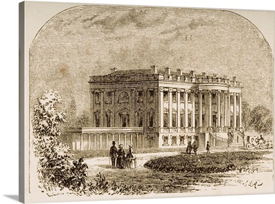 The White House, Washington, DC, In 1870s