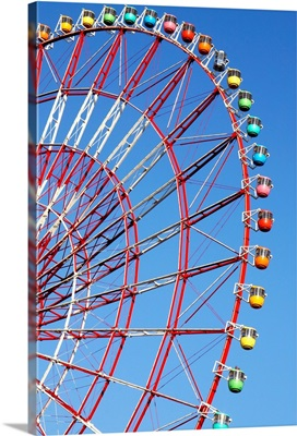 The Wonder Wheel At Odaiba