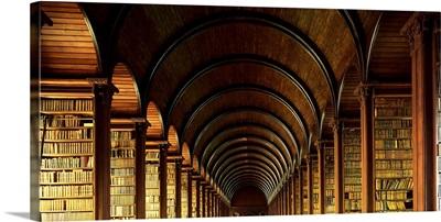 Thomas Burgh Library, Trinity College, Dublin, Ireland