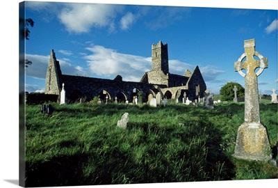 Timoleague Abbey, Co Cork, Ireland; 13Th Century Franciscan Abbey