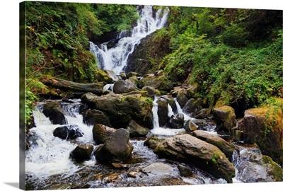 Torc Waterfall In Killarney National Park; County Kerry, Republic Of Ireland
